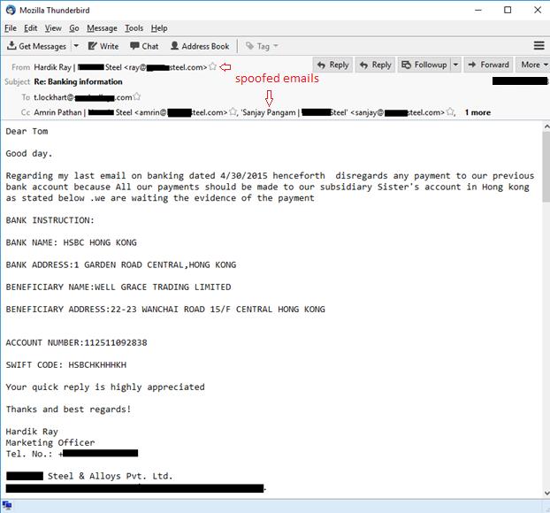Nigerian phishing: industrial companies under attack   Kaspersky Lab